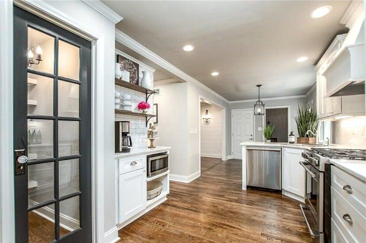 Major kitchen renovation.