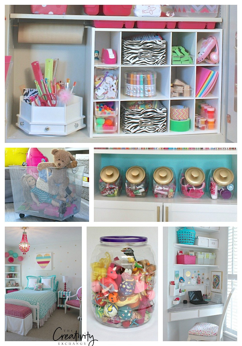 Quick tricks for organizing childrens spaces