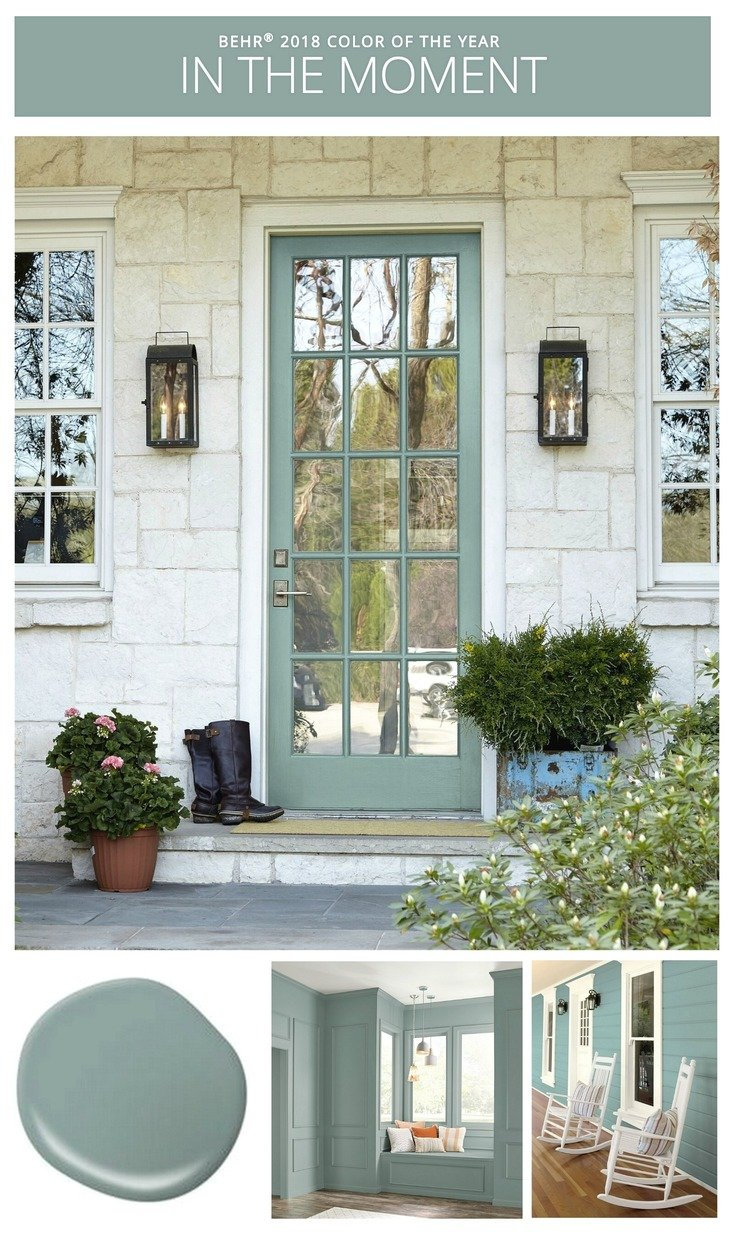 2018 colors of the year - Front door colours 2018 ...