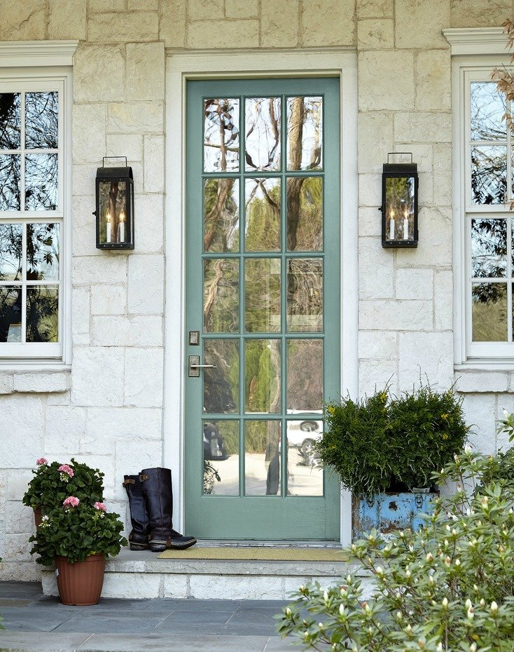 2018 colors of the year - Front door colors 2018 ...
