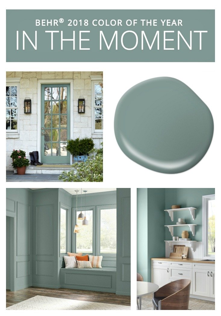2018 colors of the year Behr color of the year 2017