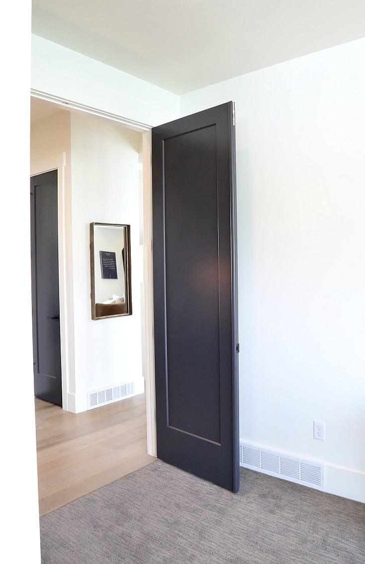 Choosing interior door styles and paint colors trends for Door design painting