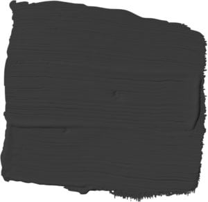Glidden's 2018 Color of the Year is Deep Onyx.