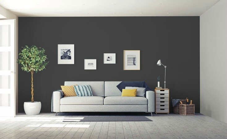 Glidden's 2018 Color of the Year is Deep Onyx