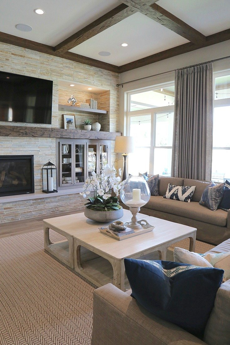 Living Room in Parade of Homes.