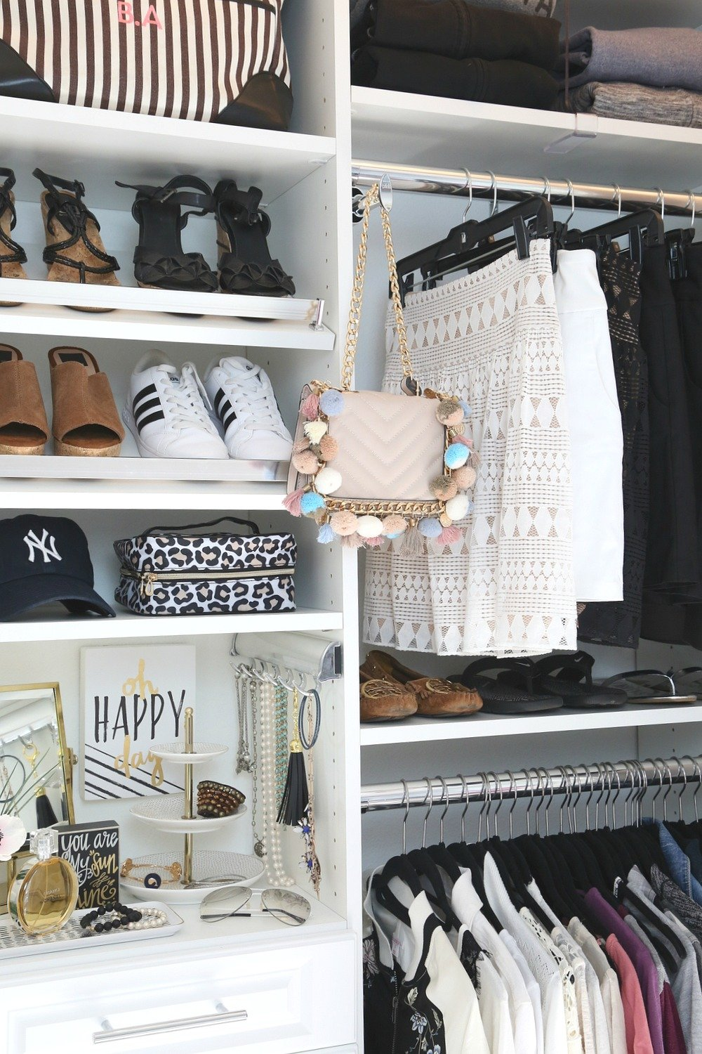Closet makeover with EasyClosets