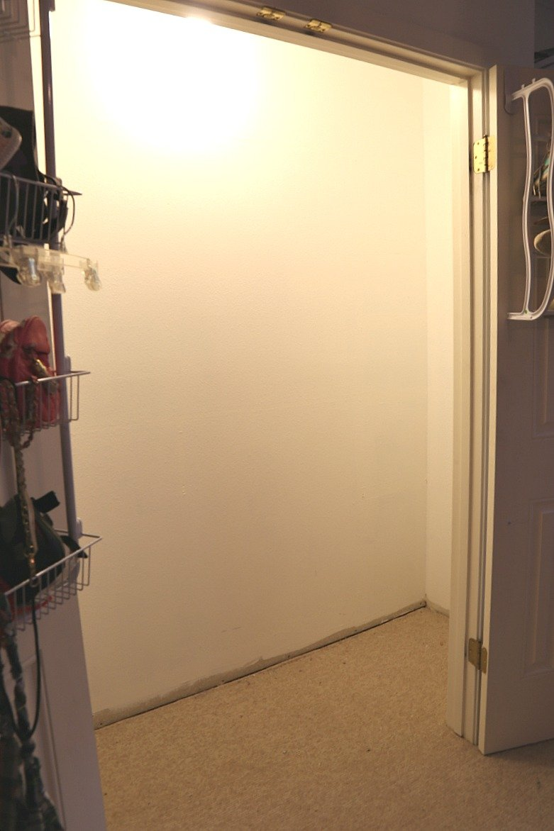 Closet remodel project with EasyClosets