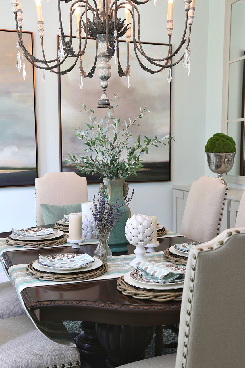 Dining room makeover reveal - Dining room wall colors ...