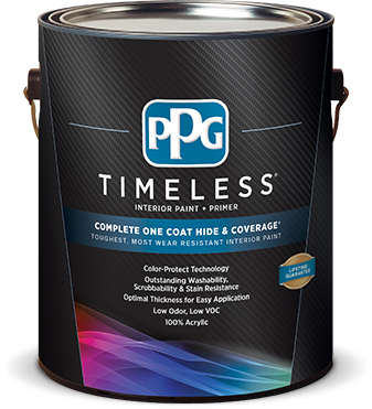 PPG Timeless Interior Paint.