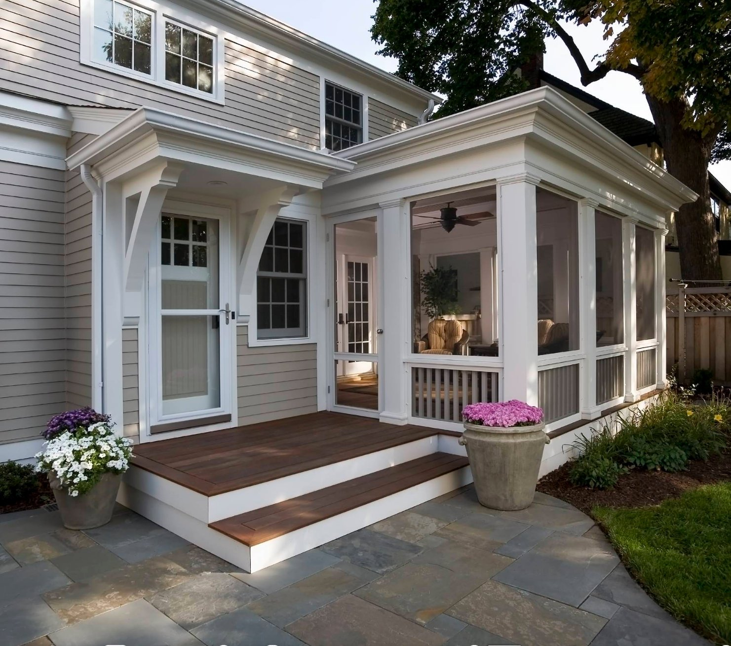 Small Front Porches On Houses: Creative Screened Porch Design Ideas
