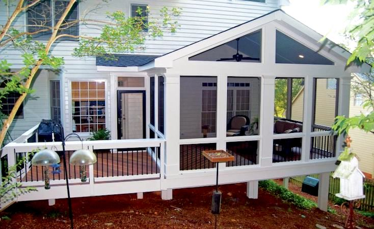 Screened Deck Porch