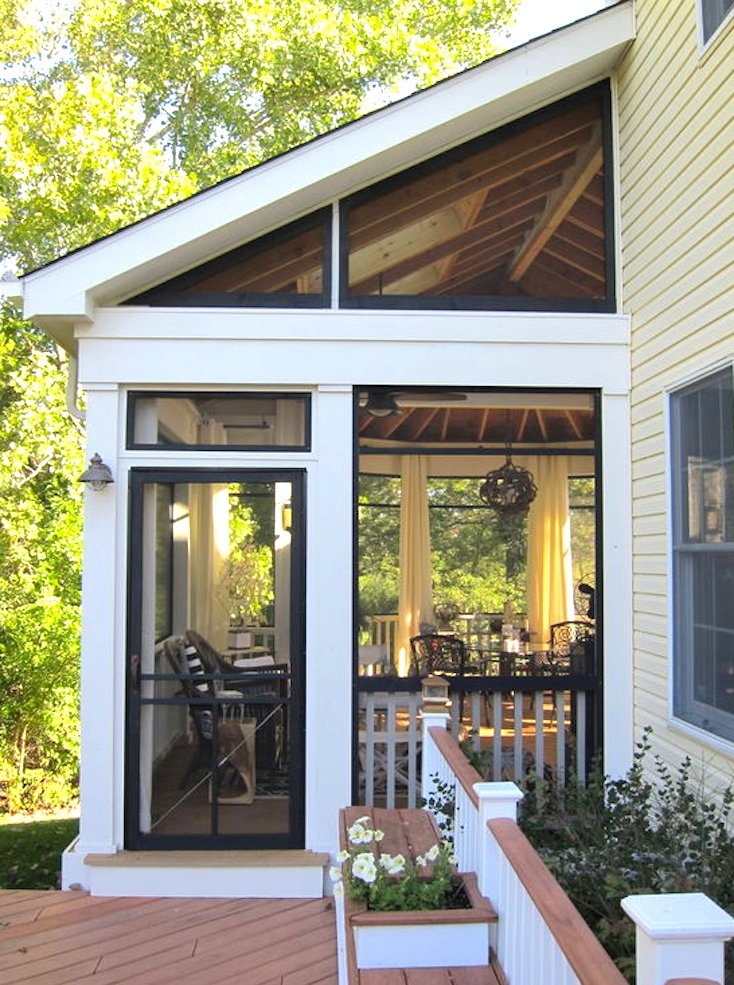 Decorating Your Screened In Porch : Creative screened porch design ideas