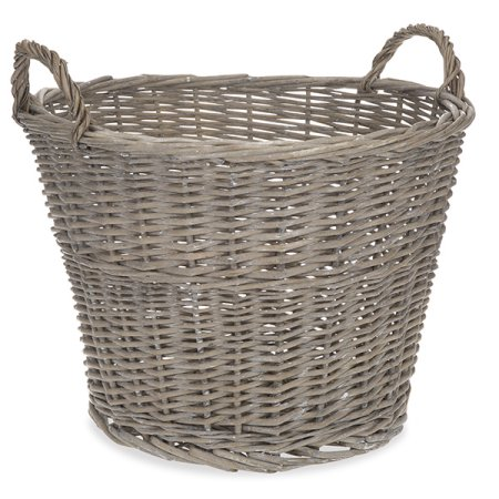 Gray washed basket