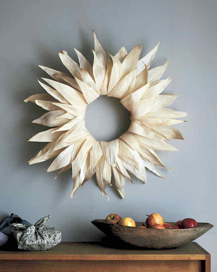 Fall Cornhusk Wreath