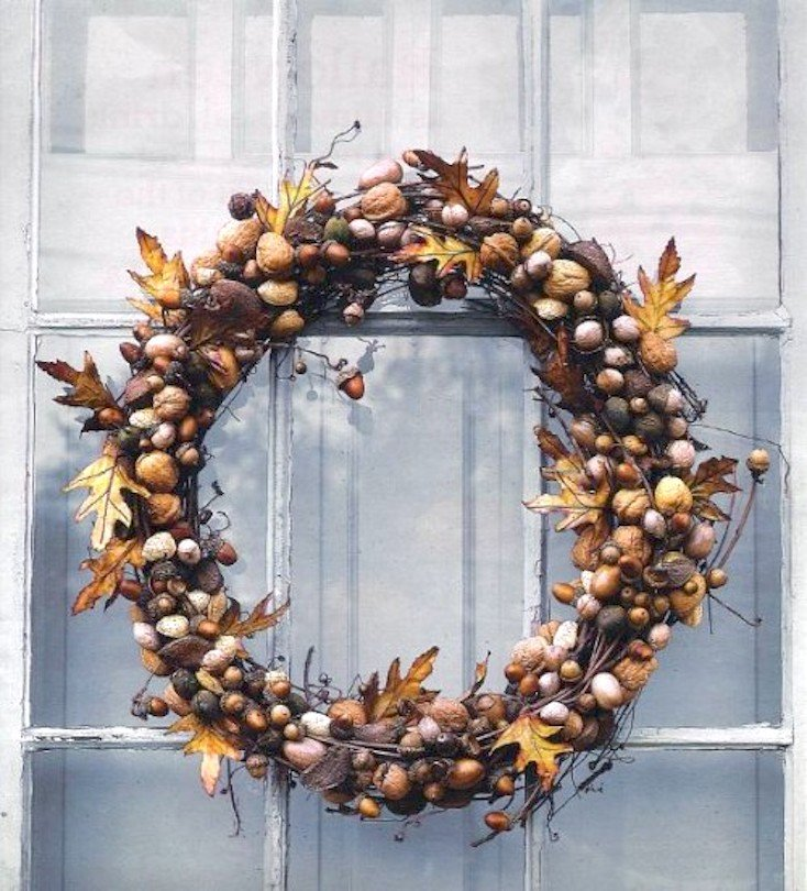 Fall Nut Wreath