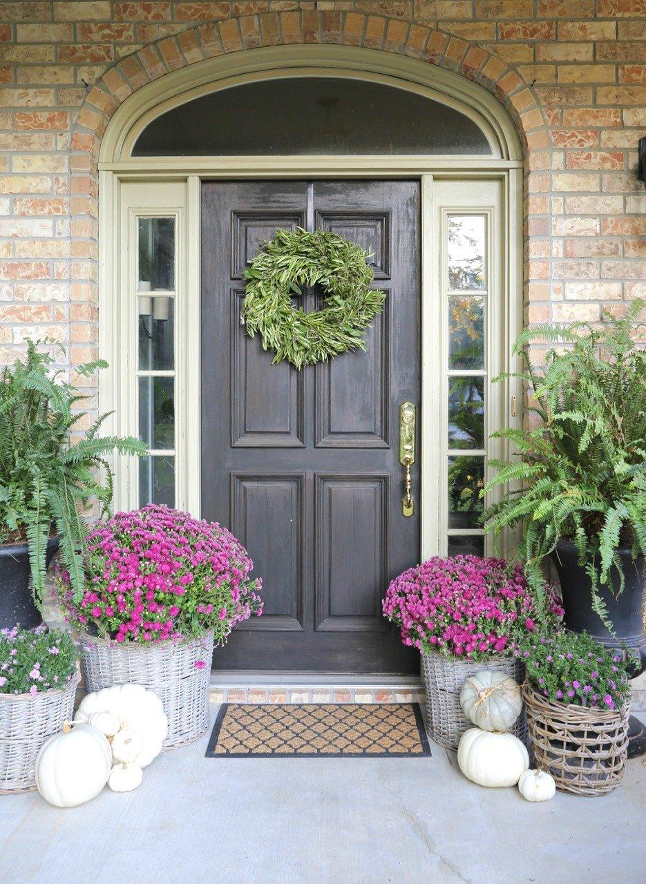 Fall porch Decor and Refresh