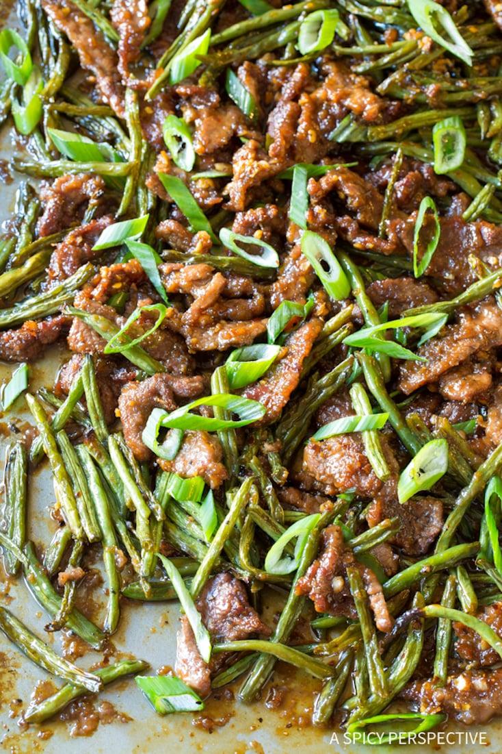 Sheet Pan Mongolian Beef