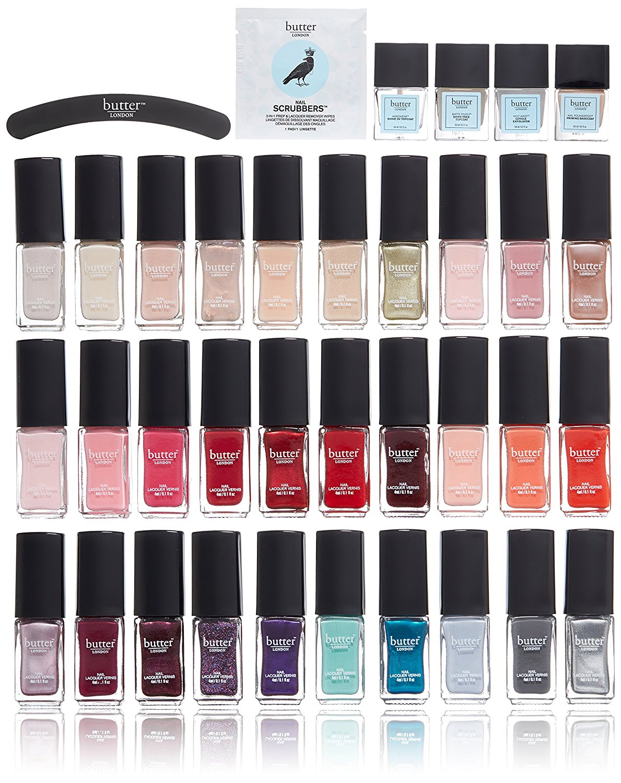 Butter nail polish gift set. Oprah's favorite things.