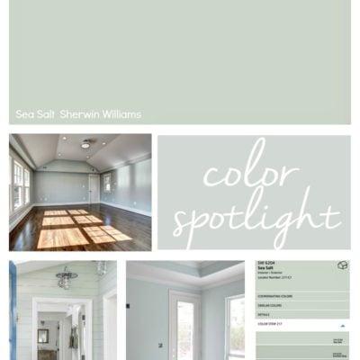 Sherwin Williams Sea Salt: Color Spotlight