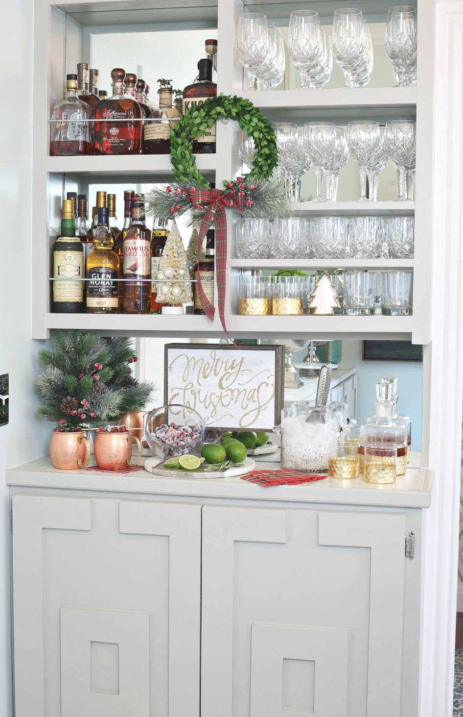 Stocked Holiday Bar.