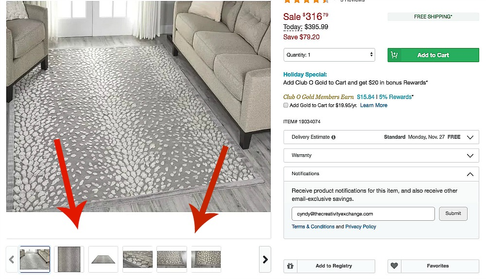 Tips for finding the best rugs online.