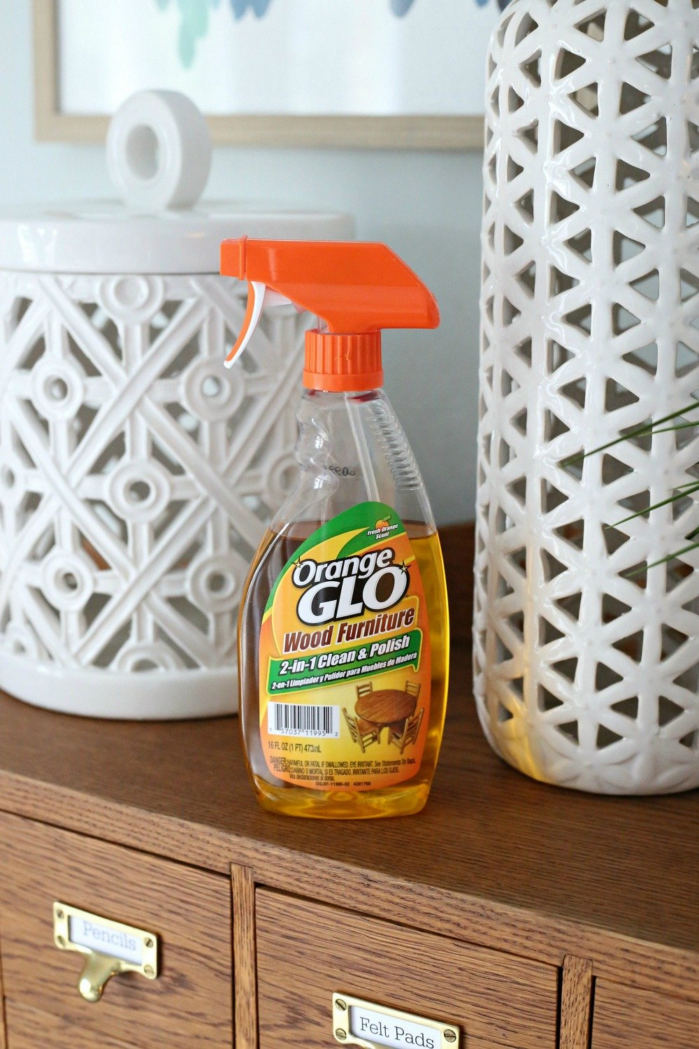OrangeGlo 2-in-1 Cleaner and Polish