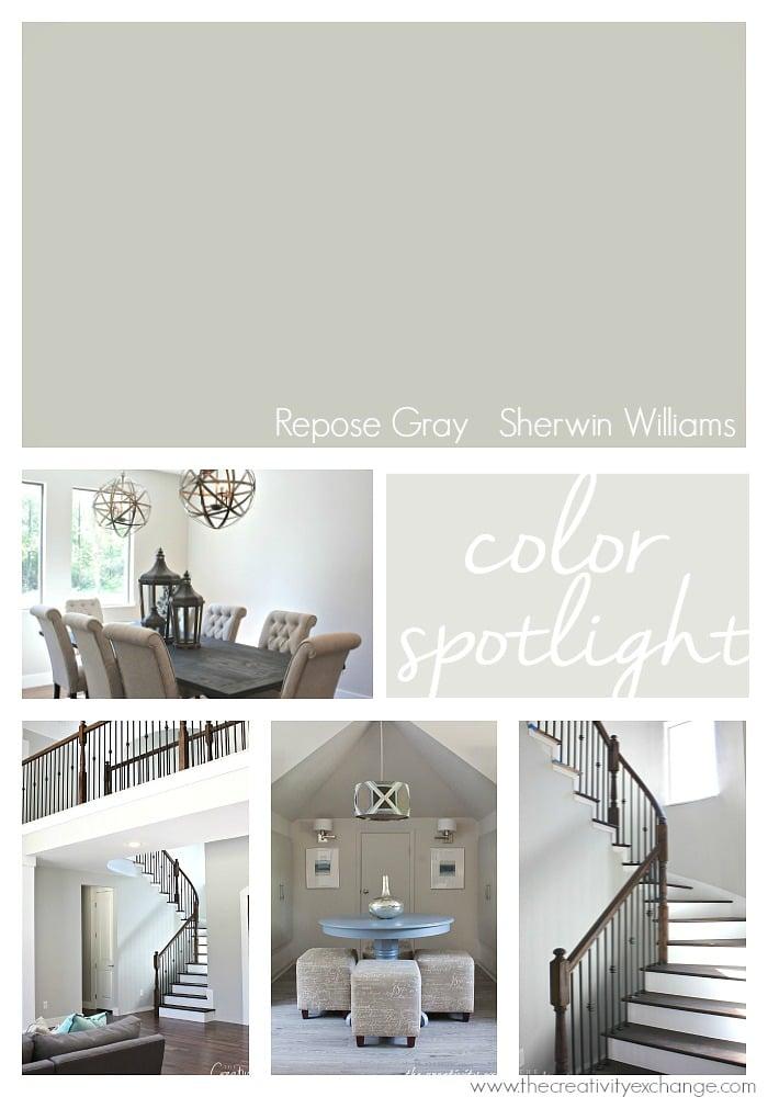 Repose Gray From Sherwin Williams Color Spotlight