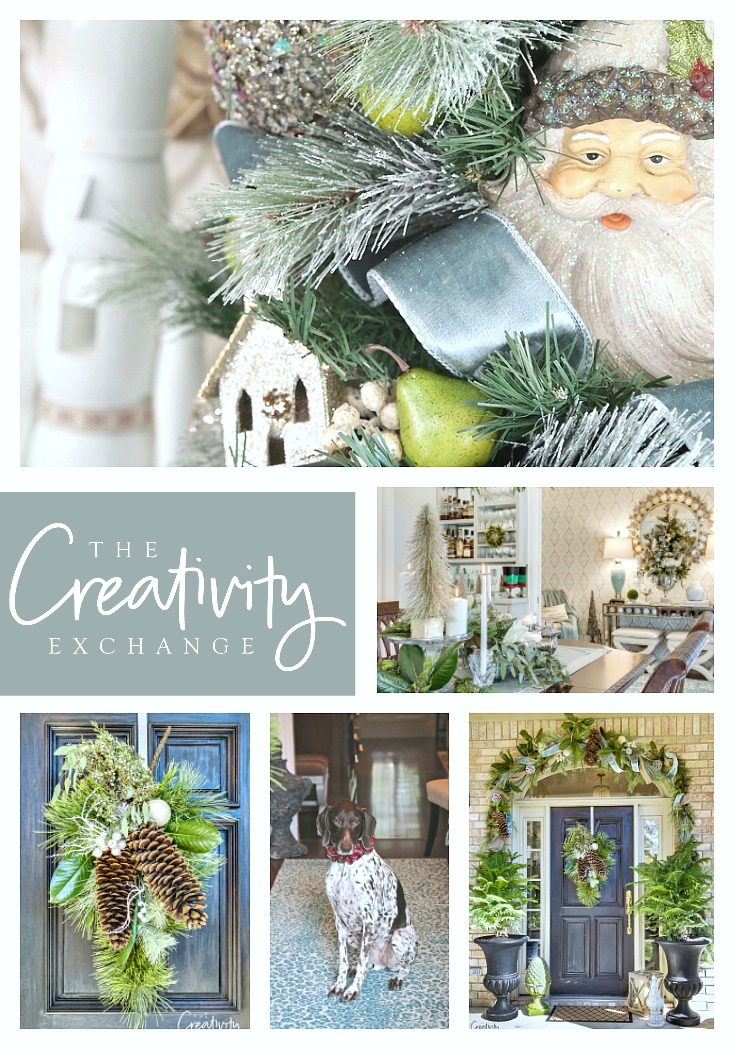 The Creativity Exchange Blogger Christmas Home Tour