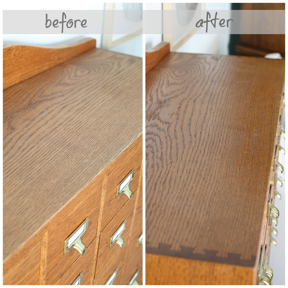 Tips and tricks for cleaning and polishing wood furniture.