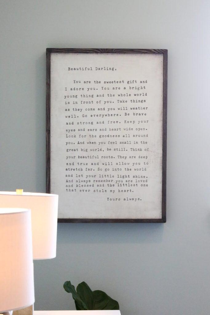 Written Letter Art