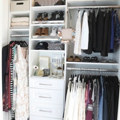 5 Steps That Make Closet Purging and Organizing Easier