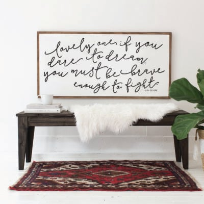 Find Inspiration in Quotation Art Home Decor