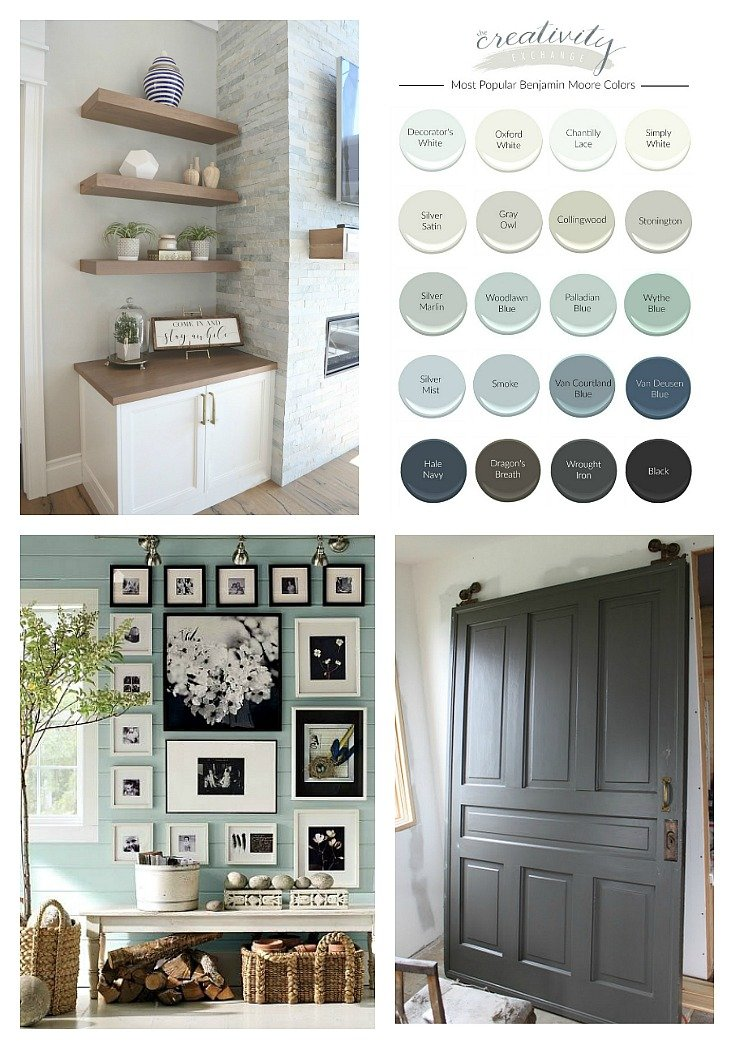 Most Popular Benjamin Moore Paint Colors.