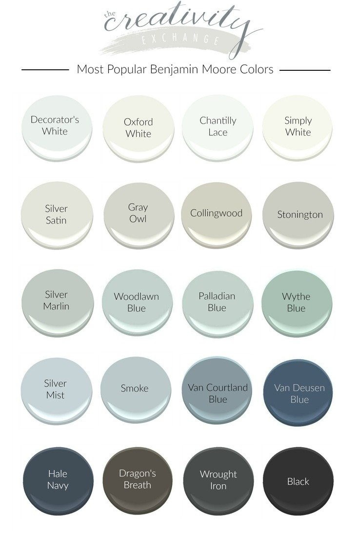 Most Popular Benjamin Moore Paint Colors For Living Room Color Trends 2018 Best Color For