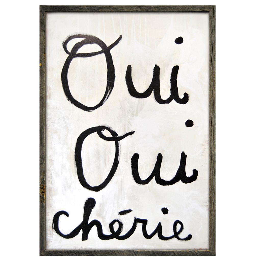 Oui Oui Cheri Painting