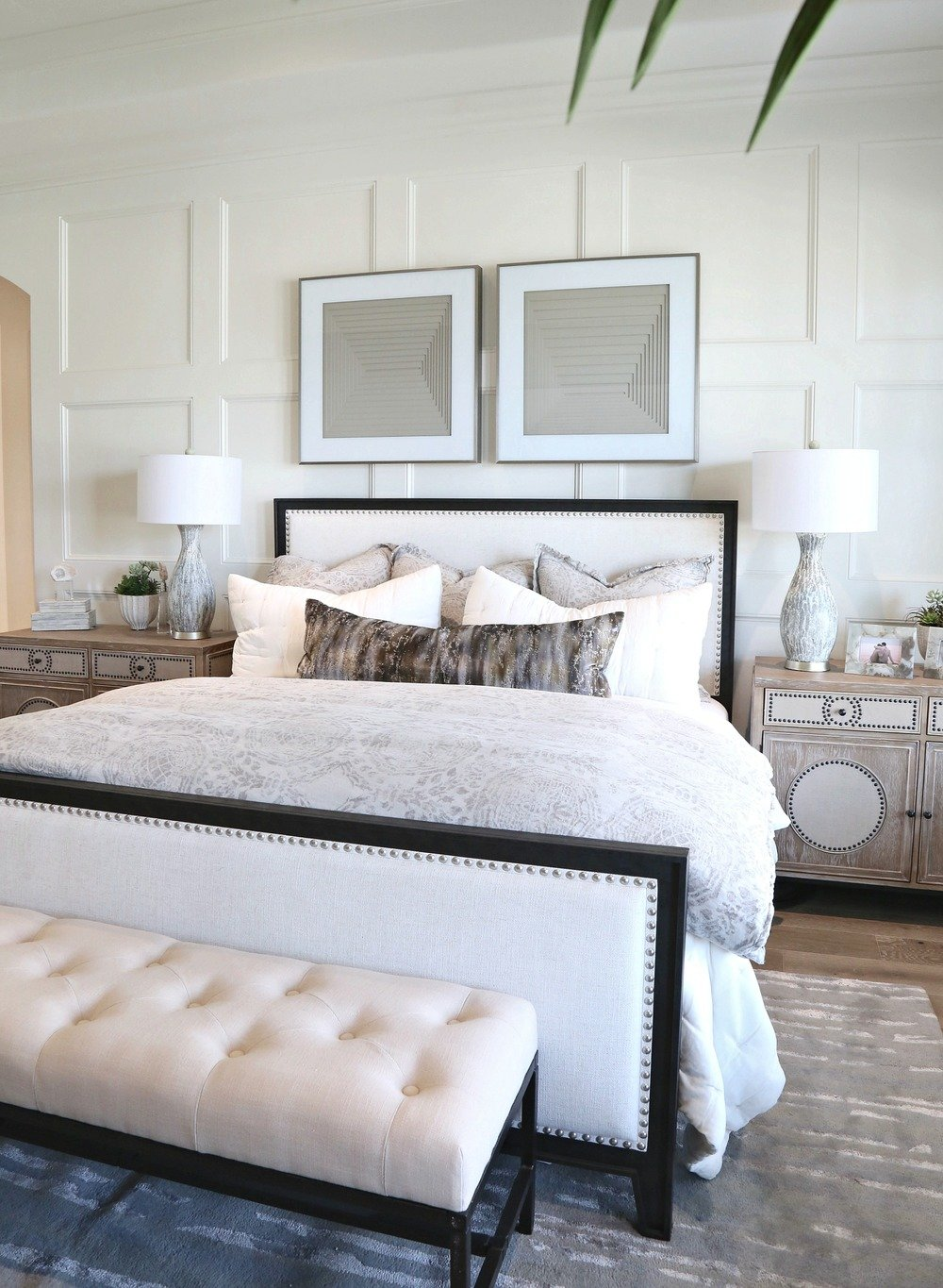 White Paint Color Trends. Wall Color Is Garlic Clove By PPG