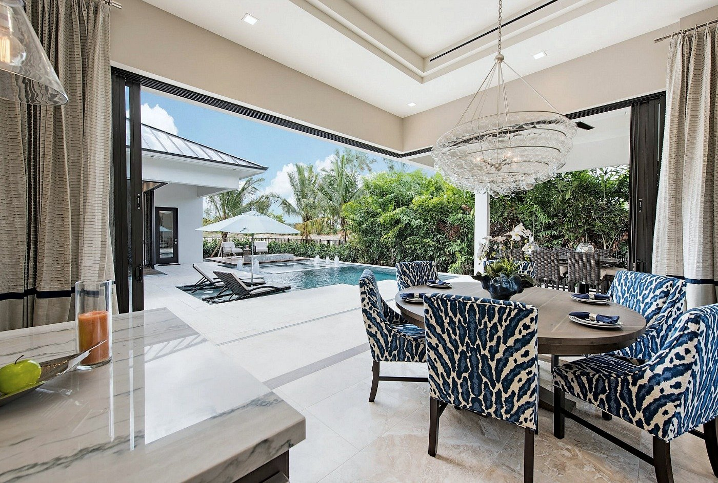 KTS Group Designed Home in Naples Florida