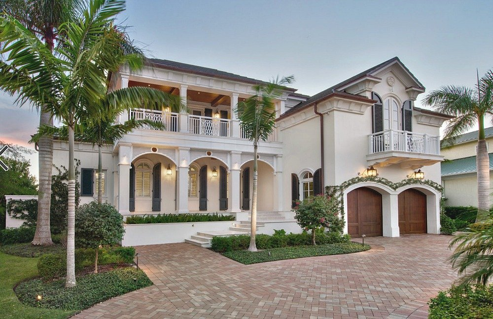Naples Florida Exterior Home
