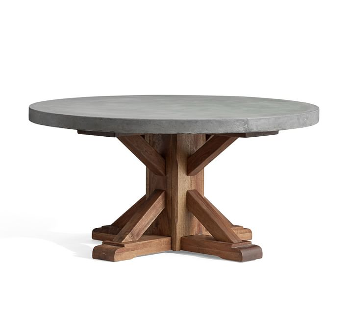Abbott Round Coffee Table from Pottery Barn