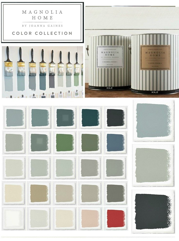 Of Course Joanna Has Expanded Her Magnolia Home Paint