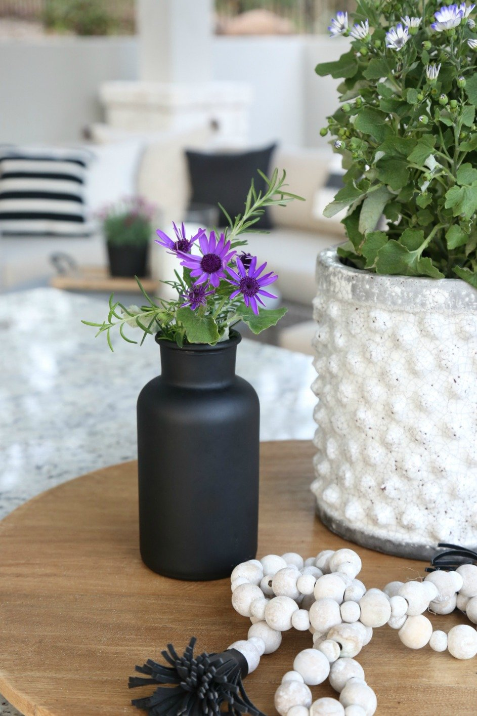 Spray bottles and vases with Testors CreateFX Chalkboard Spray Paint