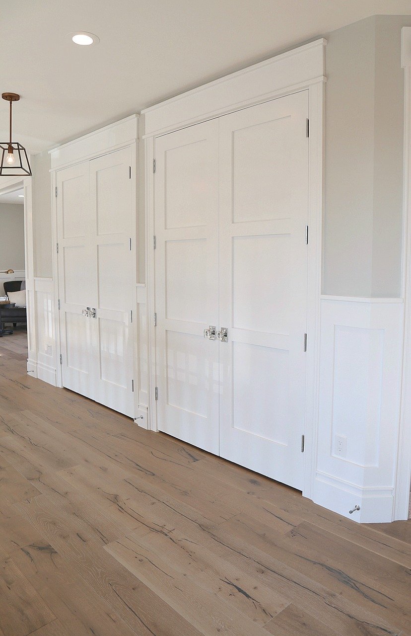 Trim And Door Color Is Benjamin Moore Super White