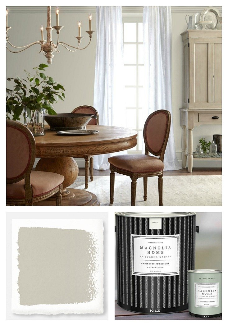 Wall Color Is Gatherings From Magnolia Home Paint By Joanna Gaines