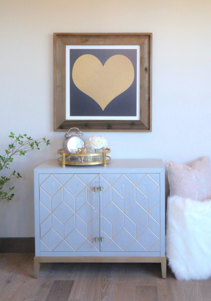 Modern small sideboard