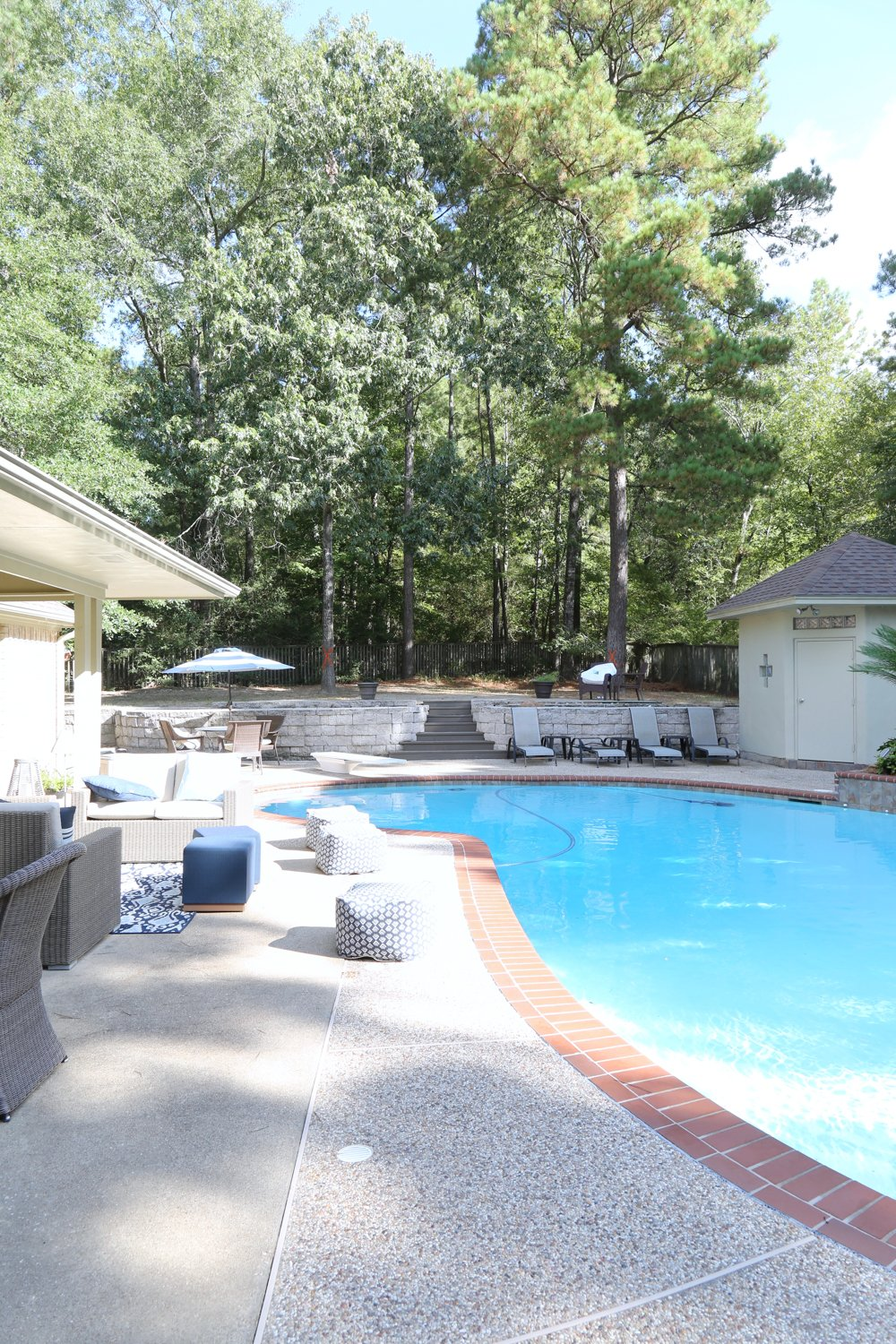 Pool House and Outdoor Kitchen Project Reveal.
