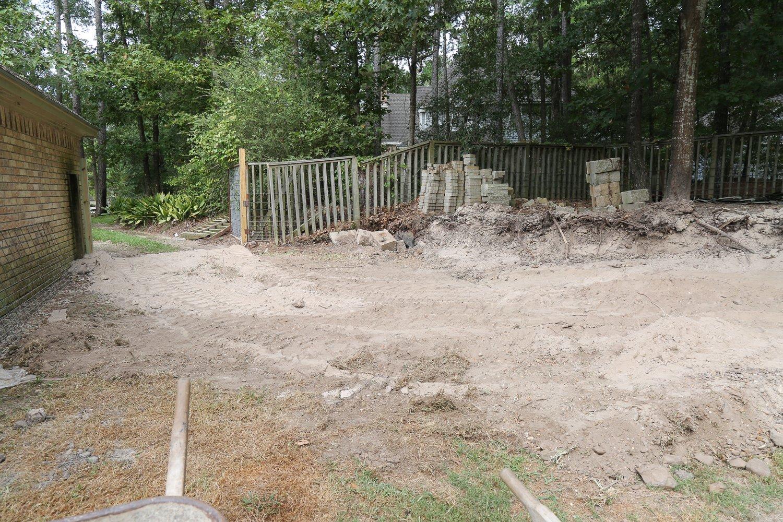 Dirt excavating