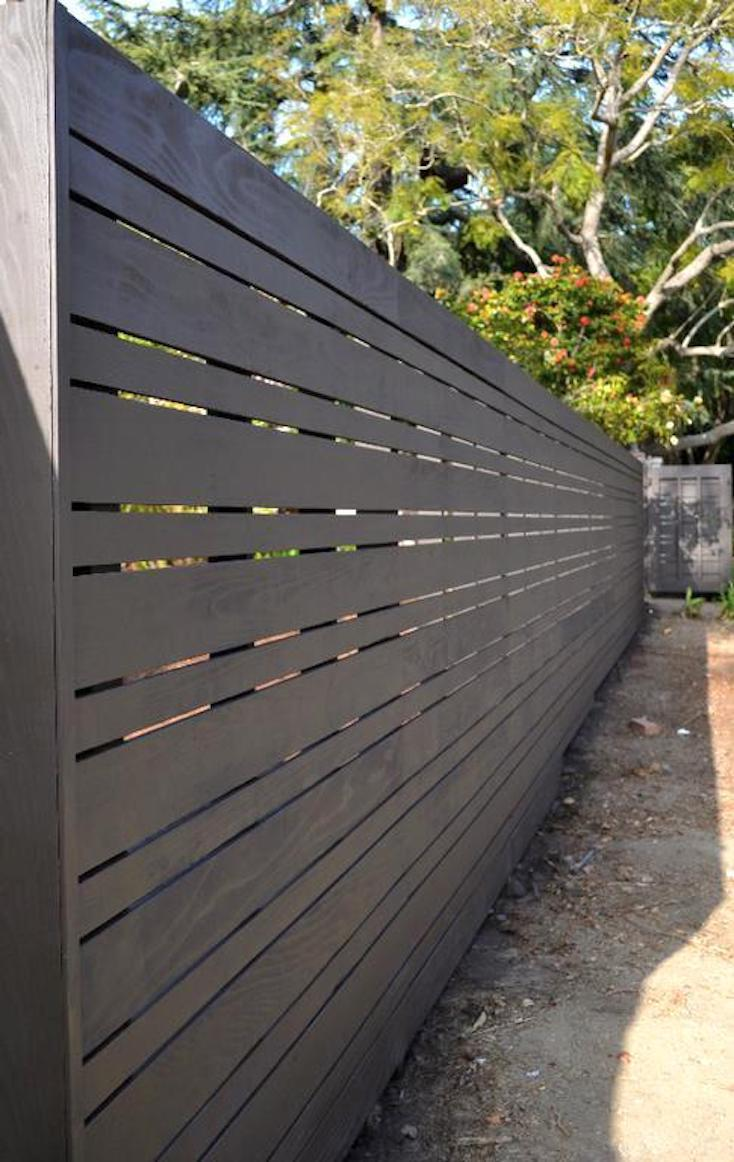 Beautiful Modern Fence Design Ideas on Gate Color Ideas  id=44832