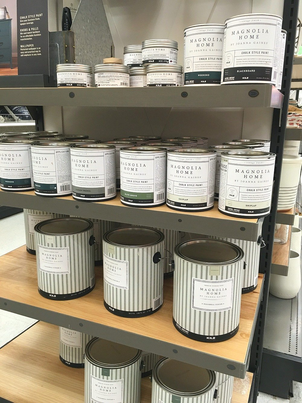 Joanna Gaines' Paint Line at Target