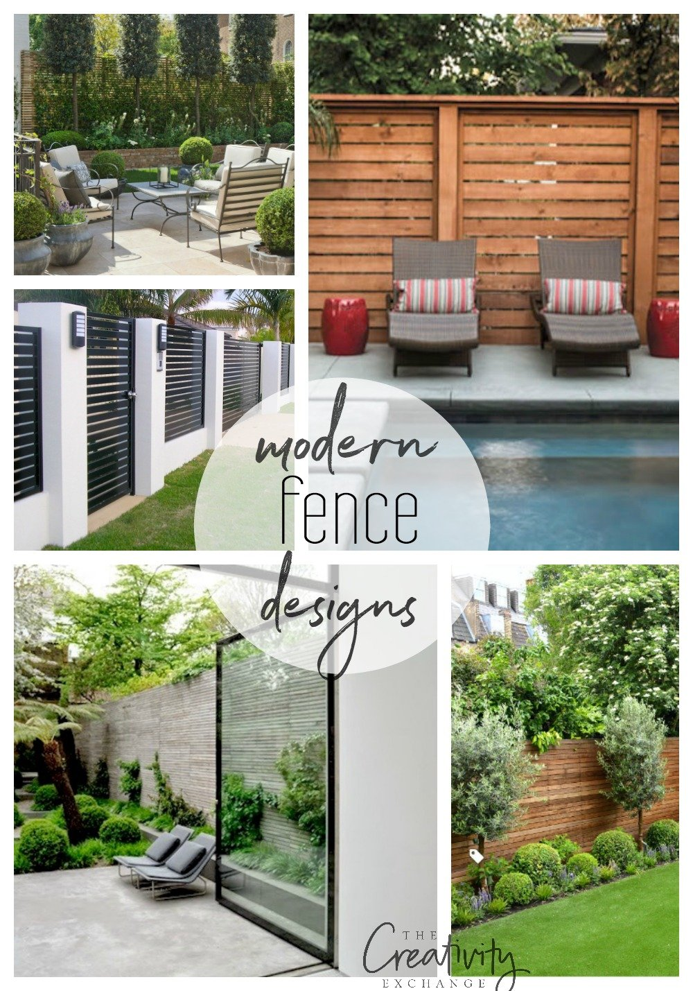 Beautiful Modern Fence Design Ideas on