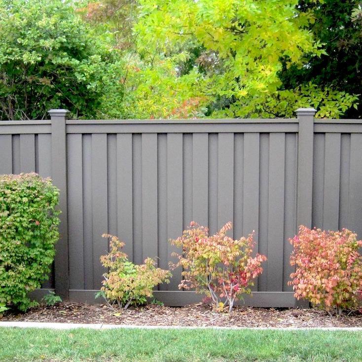 Wood-Plastic Composite Fence